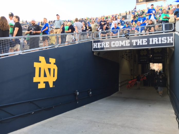 Ex-linebacker sues Notre Dame over spinal scan results - News Now Warsaw