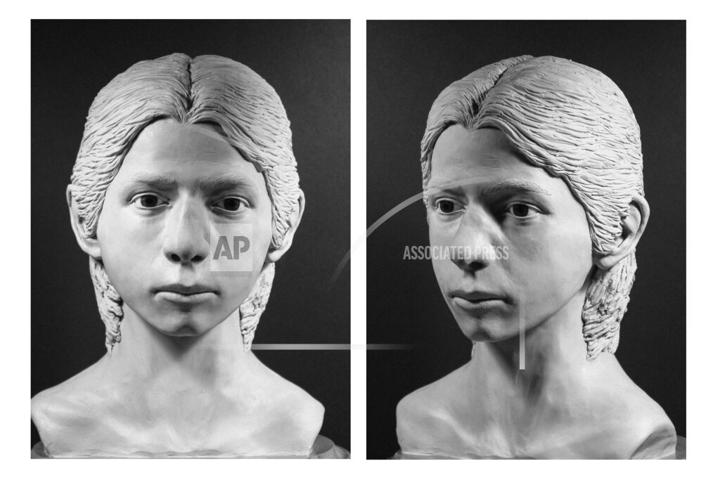 Facial reconstruction done to can help identify remains